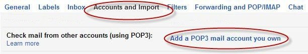 Add A POP3 Email Account You Own