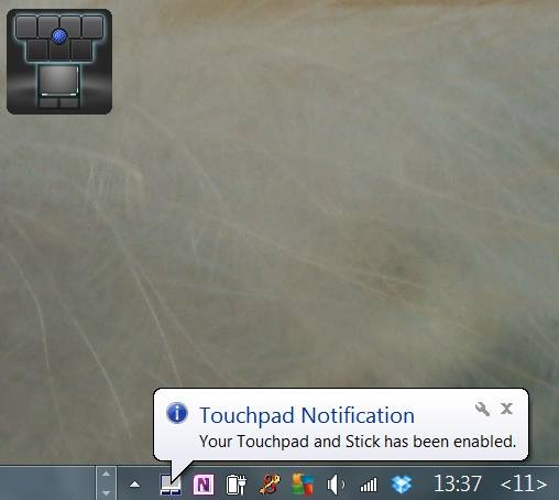 Alps Dell Touchpad Both Enabled